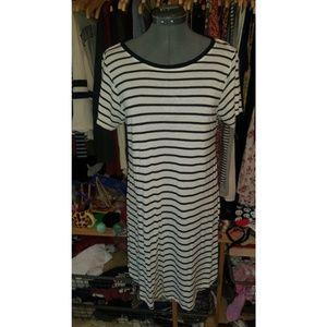 Striped Midi Dress!
